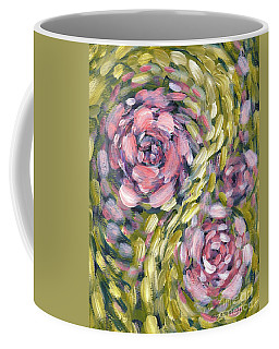 Coffee Mug featuring the digital art Late Summer Whirl by Holly Carmichael