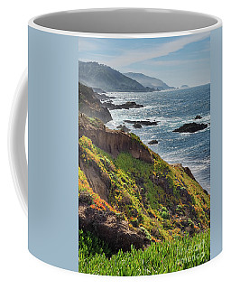Late Winter, Big Sur Coastline, California #30248-30251 Coffee Mug