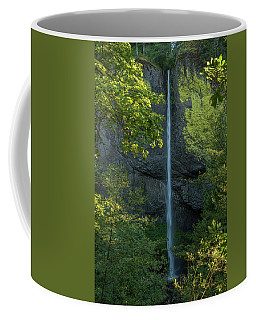 Latourell Falls Coffee Mug by Brenda Jacobs