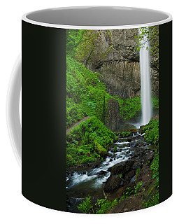 Latourell Falls Oregon Coffee Mug