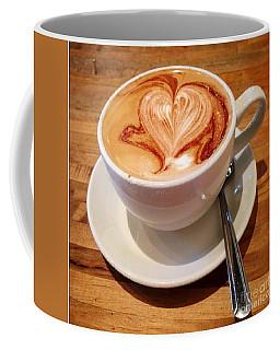 Latte Love Coffee Mug by Susan Garren