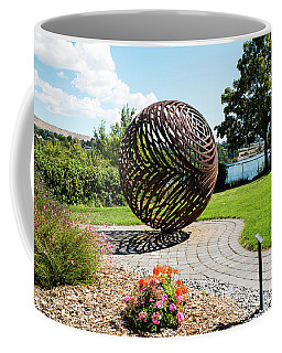 Latticed Iron Ball With Shadow Coffee Mug