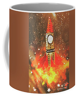 Launch Of Early Learning Coffee Mug by Jorgo Photography - Wall Art Gallery