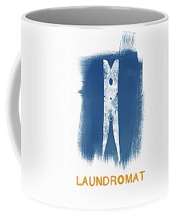 Laundromat- Art By Linda Woods Coffee Mug