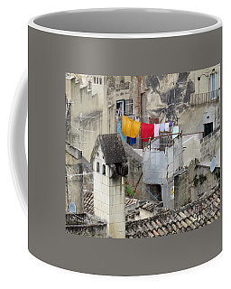 Laundry Day In Matera.italy Coffee Mug