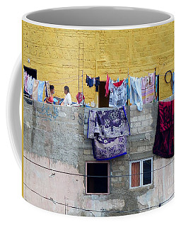 Coffee Mug featuring the photograph Laundry In Guanajuato by Rosanne Licciardi