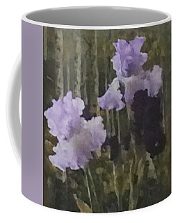 Laura's Irises Coffee Mug