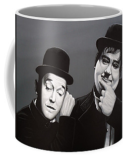 Laurel And Hardy Coffee Mug