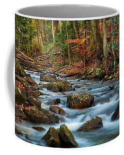 Laurel Fork In The Fall Coffee Mug