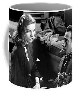Lauren Bacall Humphrey Bogart Film Noir Classic The Big Sleep 1 1945-2015 Coffee Mug