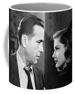 Lauren Bacall Humphrey Bogart Film Noir Classic The Big Sleep 2 1945-2015 Coffee Mug