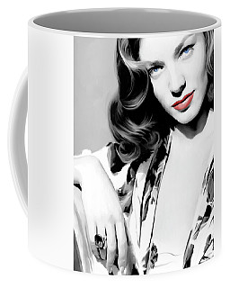 Lauren Bacall Large Size Portrait 2 Coffee Mug
