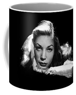 Lauren Bacall Publicity Photo Circa 1945-2015 Coffee Mug