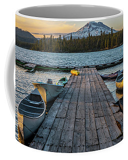 Lava Lake Evening  Coffee Mug