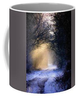 Lavander Snow  Coffee Mug