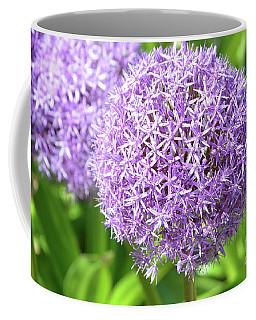 Lavender Allium Flowers Coffee Mug by DejaVu Designs