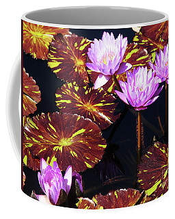 Lavender And Gold Coffee Mug