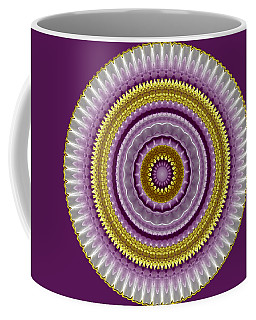 Lavender And Gold Lace Coffee Mug