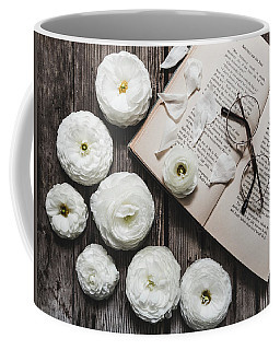 Coffee Mug featuring the photograph Lavender And Old Lace by Kim Hojnacki