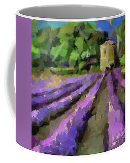 Lavender And Pigeonnier Coffee Mug