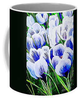 Lavender Blue Crocus Coffee Mug