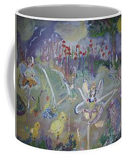Lavender Fairies Coffee Mug by Judith Desrosiers