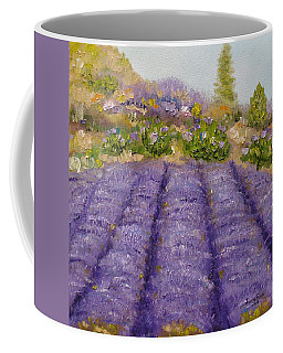 Lavender Field Coffee Mug