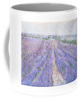 Lavender Fields Provence-france Coffee Mug