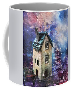 Lavender Hill Coffee Mug by Mo T