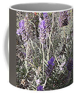 Coffee Mug featuring the digital art Lavender Moment by Winsome Gunning