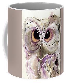 Lavender Owl Coffee Mug
