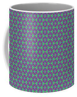 Lavender Pinwheels Coffee Mug