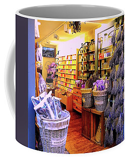 Lavender Shop In Southern France Coffee Mug