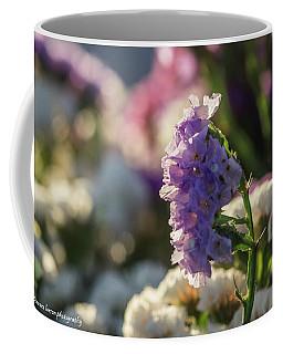 Lavender Straw Flower Coffee Mug