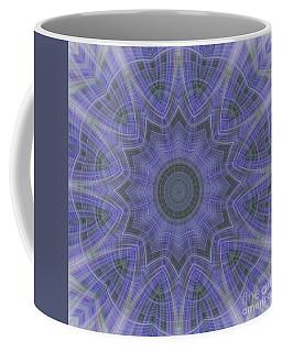 Lavender Twirl Kaleido Coffee Mug