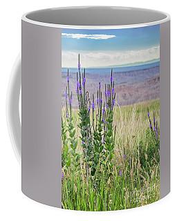 Lavender Verbena And Hills Coffee Mug