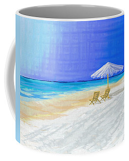 Lawn Chairs In Paradise Coffee Mug