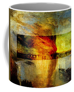 Layered 12 Turner Coffee Mug by David Bridburg