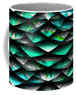 Layers Abstract Coffee Mug