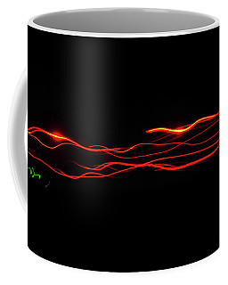 Coffee Mug featuring the photograph Lazer by Scott Cordell