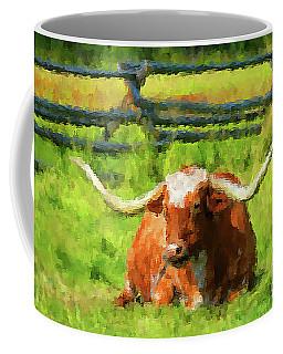 Lazing Longhorn Coffee Mug