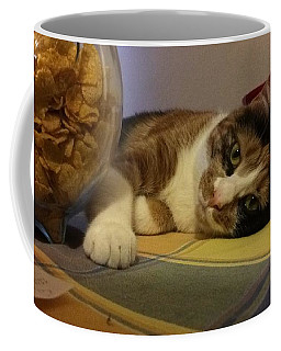 Lazy Cat  Coffee Mug