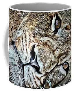 Lazy Lion Coffee Mug