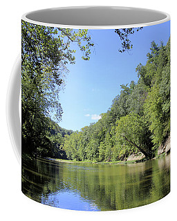 Coffee Mug featuring the photograph Lazy Sugar Creek by Scott Kingery