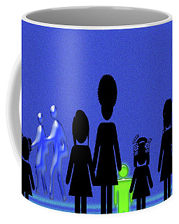 Coffee Mug featuring the photograph Lazy Sunday Afternoon Walk by Tina M Wenger