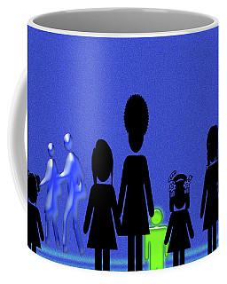 Lazy Sunday Afternoon Walk Coffee Mug by Tina M Wenger
