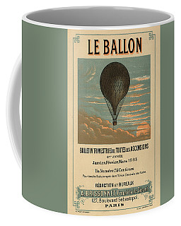 Le Balloon Journal Coffee Mug