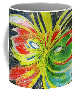 Coffee Mug featuring the drawing Le Bon Temps by Rosanne Licciardi