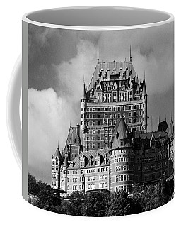 Le Chateau Frontenac - Quebec City Coffee Mug by Juergen Weiss