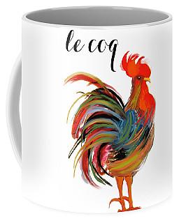 Le Coq Art Nouveau Rooster Coffee Mug